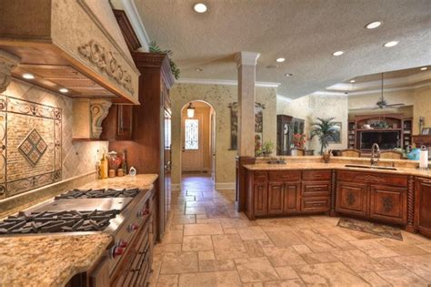 custom home interiors lake custom home mediterranean kitchen other