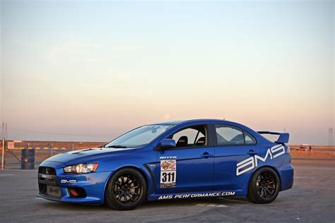 Mitsubishi Lancer Evolution Rays Engineering Volk Racing