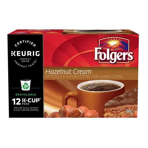 Featured items newest items bestselling alphabetical: Folgers Hazelnut Cream K-Cup Coffee Pods 12 Count - Walmart.com - Walmart.com