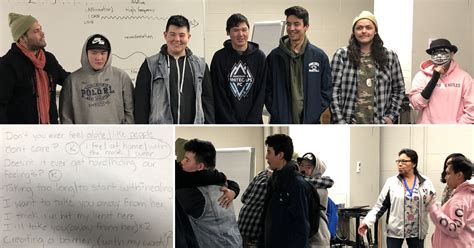 finding voice indigenous students create hip hop song school