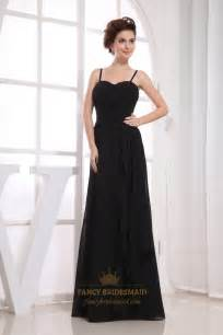 black dresses for bridesmaids black chiffon bridesmaid dresses pleated chiffon bridesmaid dress spaghetti chiffon