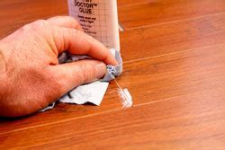 LAMINATE FLOORING GAPS: A Simple Way to Fix Them