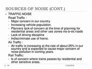 Prevention and Control of Air Pollution, Noise Pollution ...