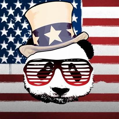Patriotic Panda Society6 Prints Login
