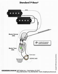 Active Bass Pickup Wiring Diagram