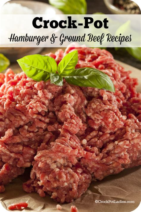 ground beef recipies crockpot ground beef recipes