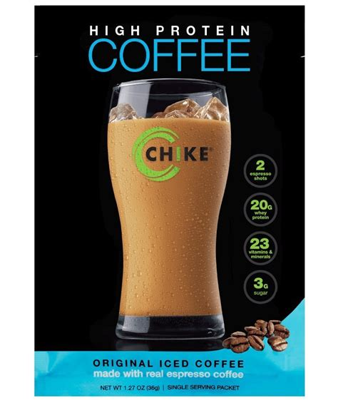 Here's some helpful info then i'll go. Amazon.com: Chike Nutrition High Protein Coffee, 16 oz: Health & Personal Care