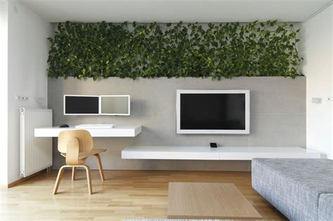 bureau mural indoor plant inspiration to transform your space
