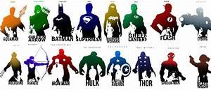 Avengers Justice League Symbols