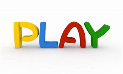 Play Clipart Clip Playing 3d Word Through