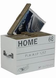 Filztasche Für Holz : fotobox home aufbewahrungsbox aus holz f r fotos mit tragegriffen ~ Sanjose-hotels-ca.com Haus und Dekorationen