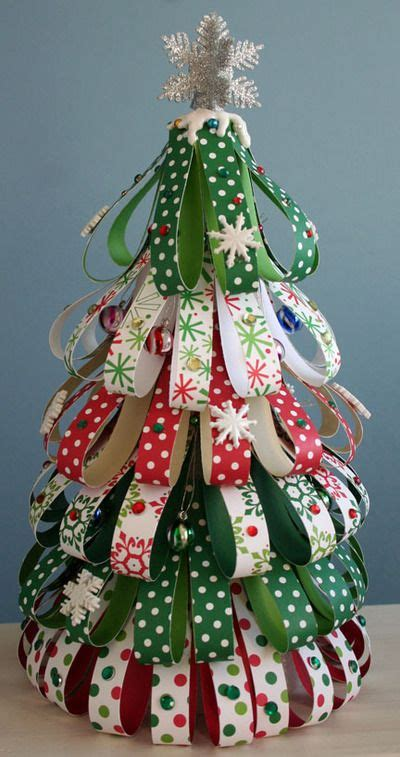 Christmas Paper Crafts On Pinterest  Easy Birthday Cards