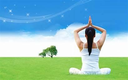 Yoga Wallpapers Desktop Healthy Health Meditation International