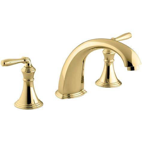 kohler kitchen faucets home depot kohler devonshire 2 handle deck and mount tub