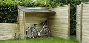 Abri Vélo Pas Cher : le coffre de rangement un gain de place abri chalet ~ Premium-room.com Idées de Décoration