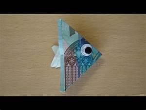 Sonnenschirm Aus Geld Basteln : geldscheine falten fisch youtube ~ Lizthompson.info Haus und Dekorationen