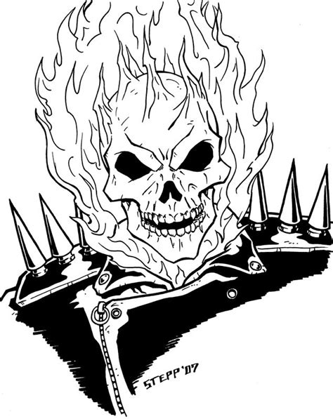 Ghost Rider by TheElysian on DeviantArt | Ghost rider