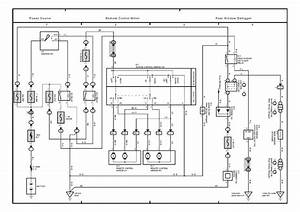 Toyota Camry Mirror Wiring Diagram
