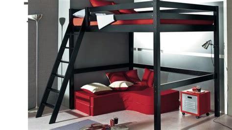 lit mezzanine 2 places avec canap lit deux personnes mezzanine