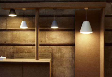 sinker pendant light designed  wrong london