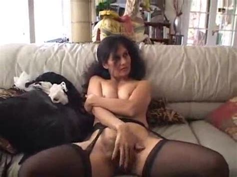 Hammering Hairy Milf Pussy Of French Maid Mature Porn