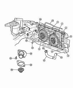 Dodge Grand Caravan Fan Module  Radiator Cooling  Right