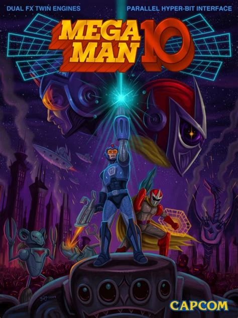 New Game Get Mega Man 10 Is Released Today Infendo