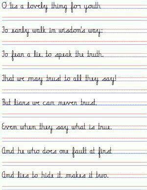 zaner bloser cursive font  microsoft word