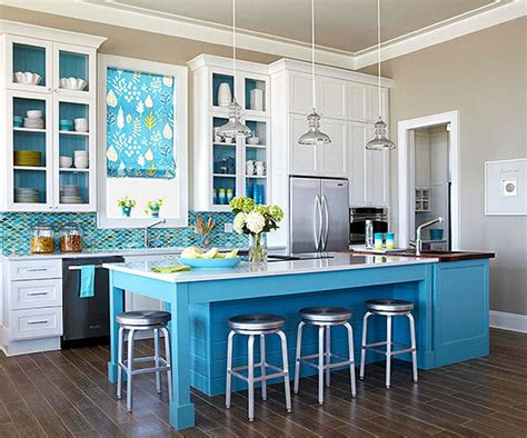 should your kitchen island match your cabinets make your kitchen island stand out with paint or stain