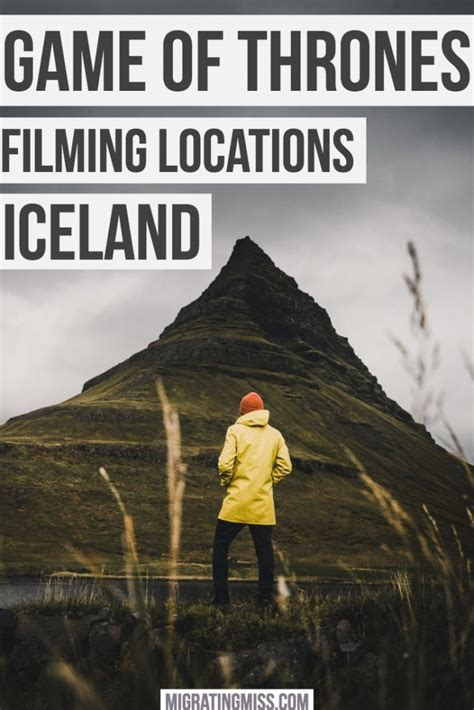 game  thrones locations  iceland guide map  find