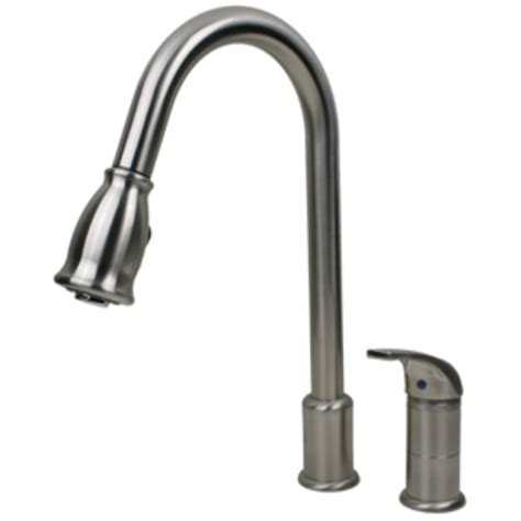 rv kitchen faucet ultra faucets side lever rv kitchen faucet with pull down spout brushed nickel ultra faucets