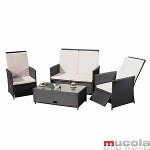 Gartenmöbel Polyrattan Lounge : polyrattan lounge sitzgarnitur sitzgruppe gartenm bel gartenlounge gartenset ebay ~ Indierocktalk.com Haus und Dekorationen