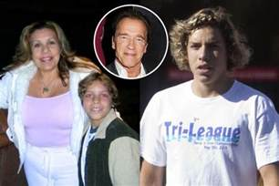 Arnold Schwarzenegger Son with Maid