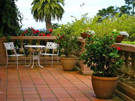 Decoration Of Terrace Garden by Decorating Terrace Garden Design Ideas With Flower
