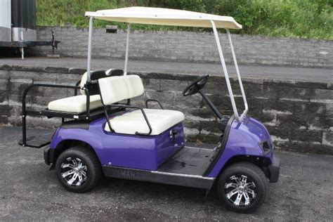2005 Yamaha G22 Custom Purple