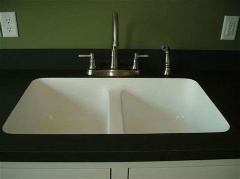 laminate top with undermount sink karran house ideas
