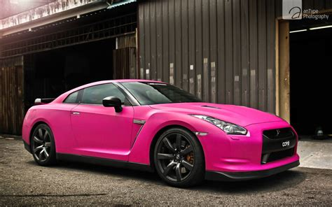 Pink Nissan Gtr Wallpaper