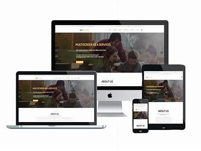 Responsive Web Wordpress Joomla Wevo Theme Et