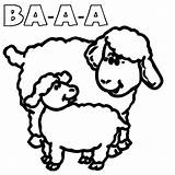 Sheep Coloring Sound Pages Suzy Peppa Pig Template Sheet Which sketch template