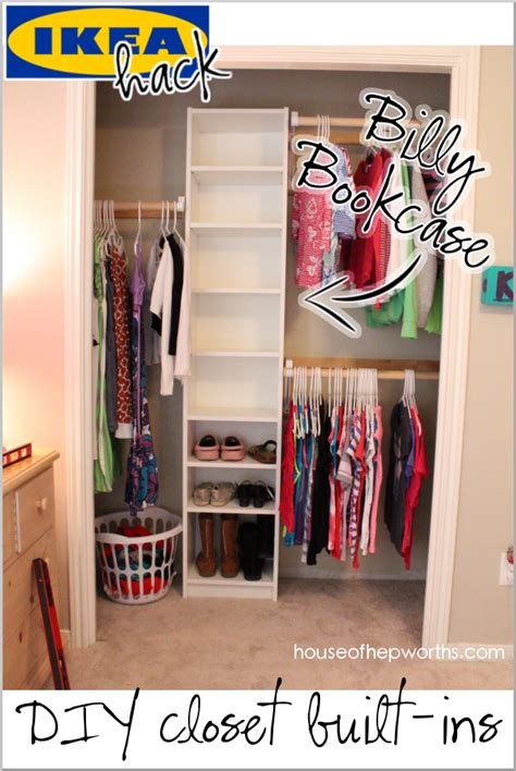 Closet La by How To Build Your Own Closet Built Ins Using A Billy