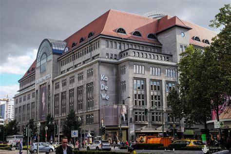 Kdw In Berlin by Kadewe Das Kaufhaus Des Westens In Berlin