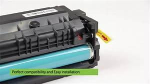 New Release Hp Cf510 Compatible Toner Cartridge Install