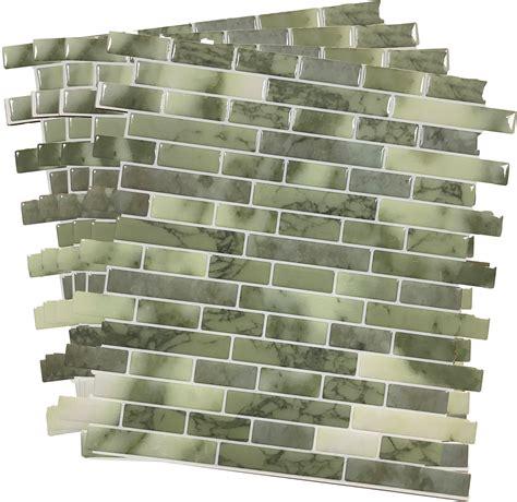 12x12 peel and stick tile backsplash
