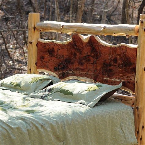 warm  inviting rustic log beds  owner builder network