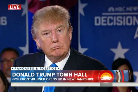 News Today by Donald Assures Voters His Hair Is Real During Today
