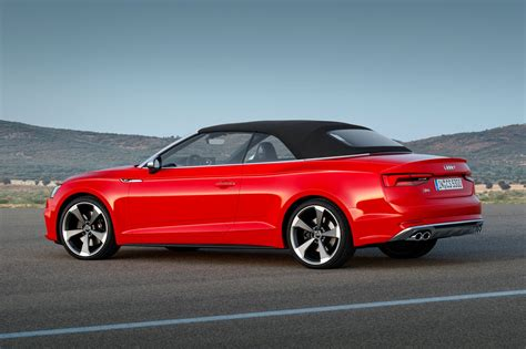 audi convertible 2017 audi s5 and a5 cabriolet chop their tops at la by car