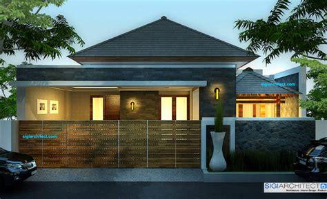 rumah modern minimalis  tropis