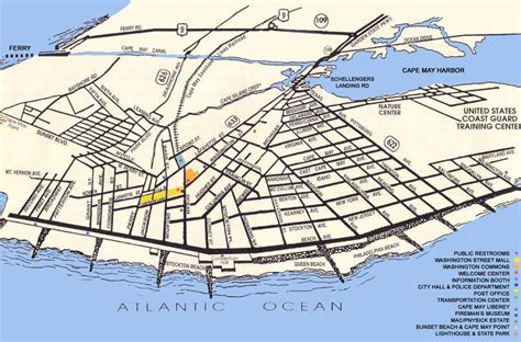 cape may map my