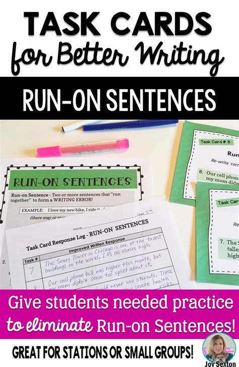 The 25+ Best Run On Sentences Ideas On Pinterest  Sentences According To Structure, Teaching