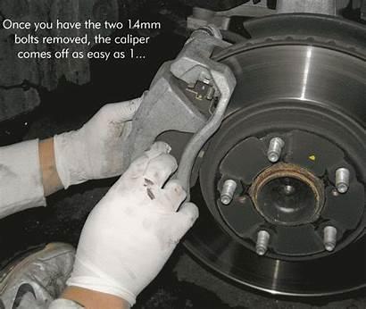 Brake Lexus Brakes Pads Disc Is250 Change